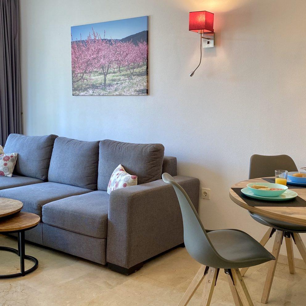 Apartamento de un dormitorio - Sala de estar