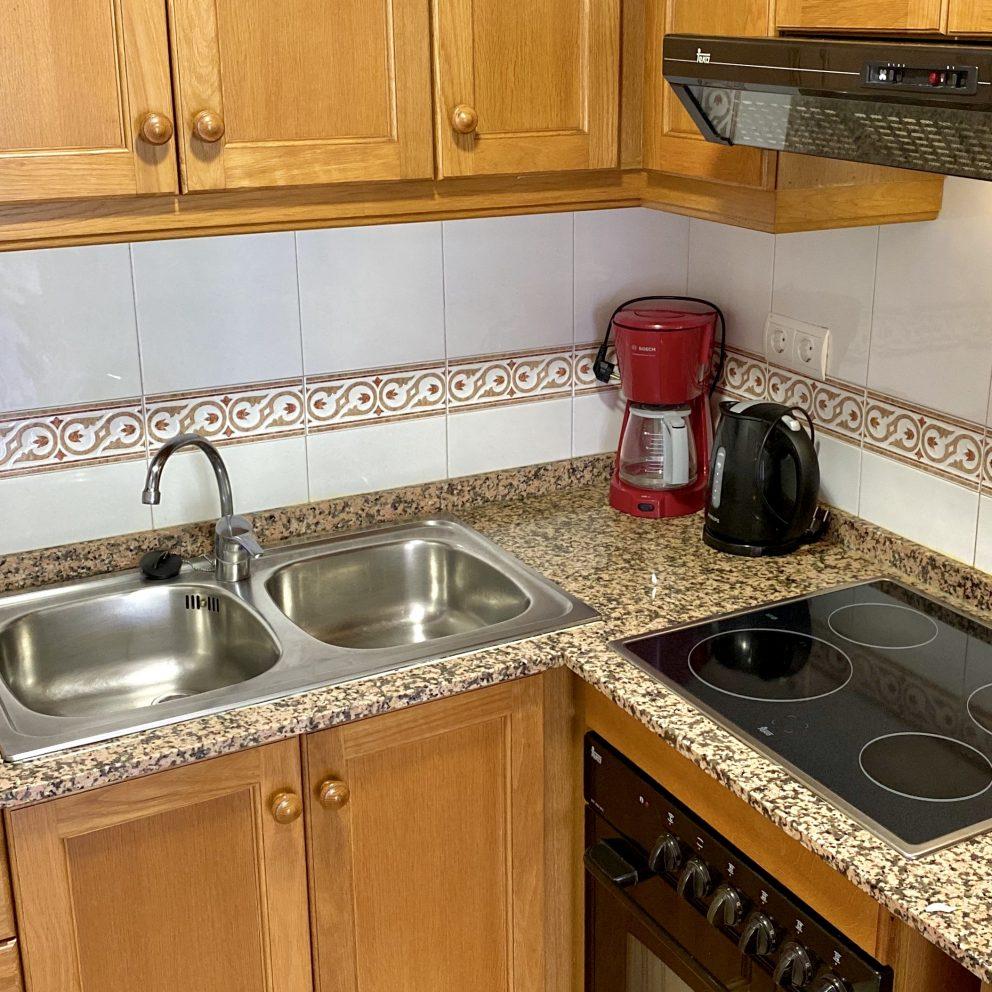 One Bedroom Apartment - Kitchen