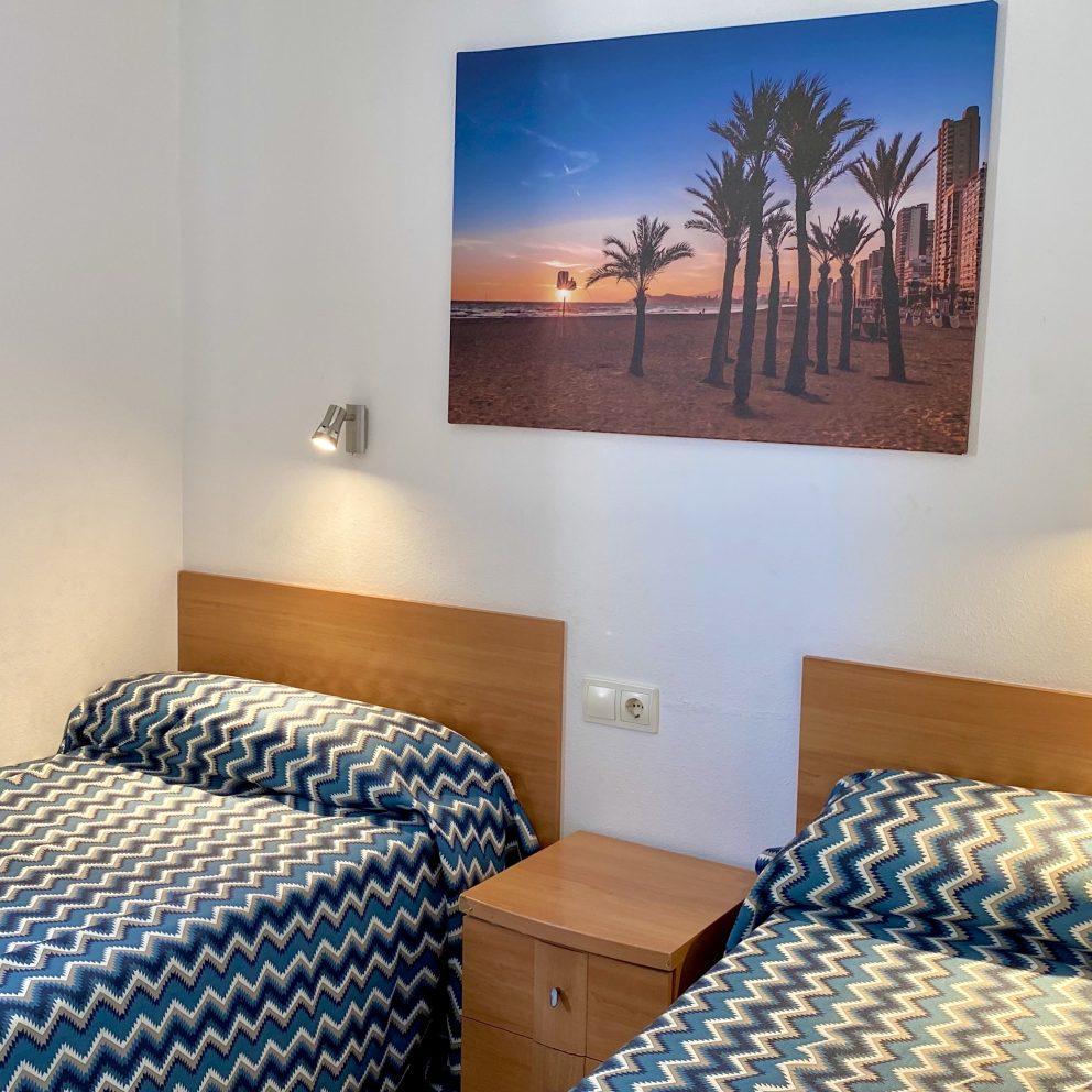 Two Bedroom Apartment - Bedroom