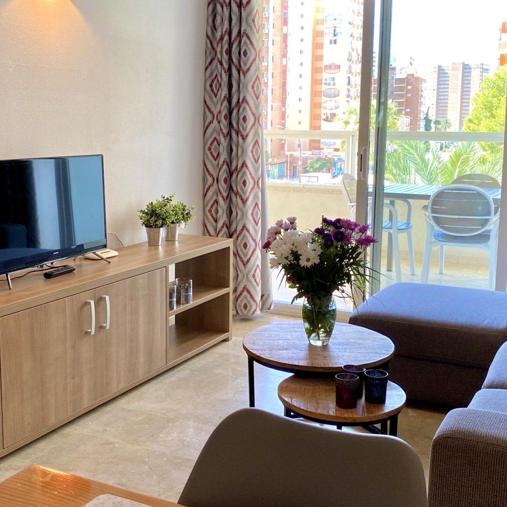 Apartamento de 2 dormitorios - Sala de estar