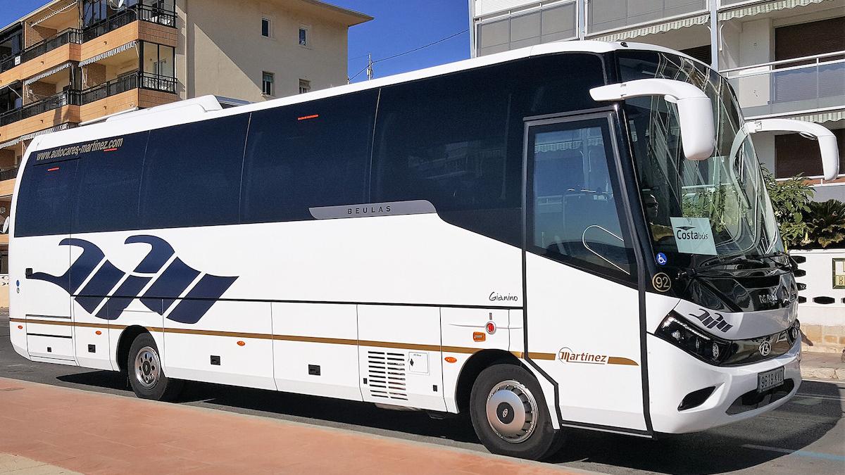 transfer bus siroco gemelos 22